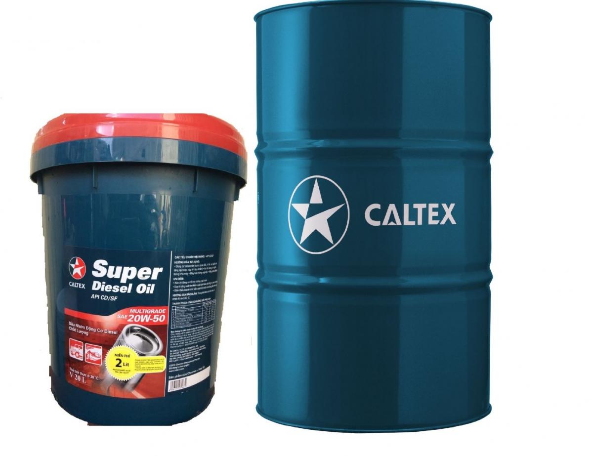 DẦU ĐỘNG CƠ SUPER DIESEL OIL SAE 15W-40; 20W-50