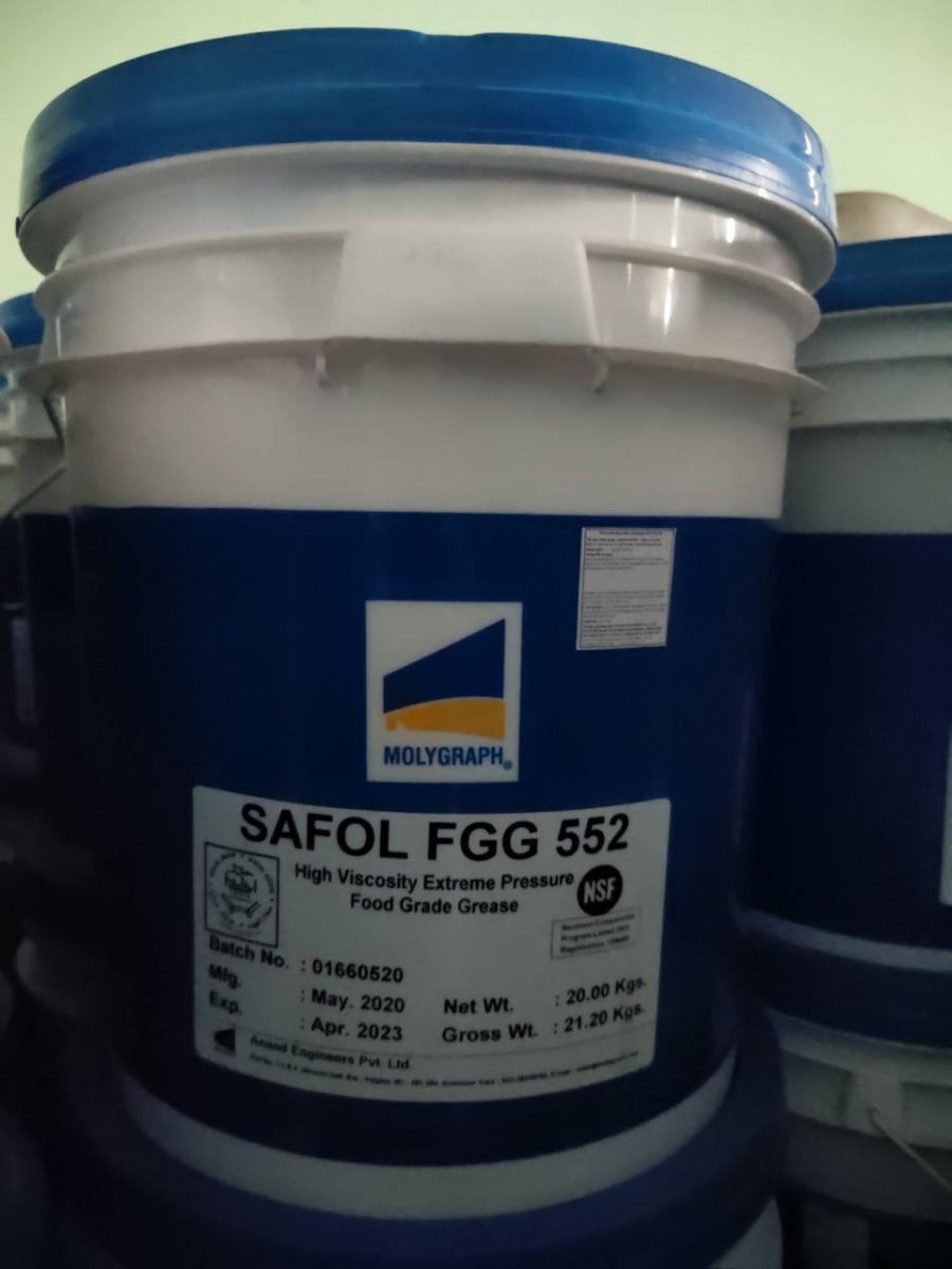 Mỡ bò thực phẩm Molygraph Safol FGG 552