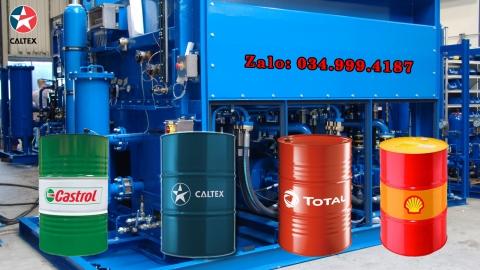 Dầu cắt gọt kim loại không pha nước Caltex Castrol Total Shell Mobil