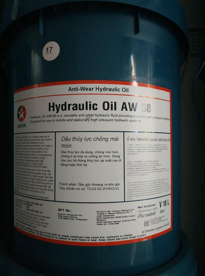 dau thuy luc hydraulic aw 68 46 32