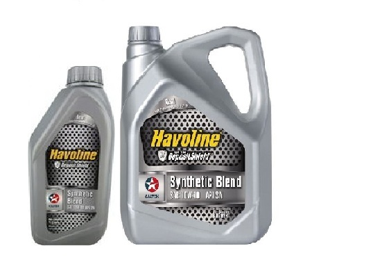 DẦU NHỚT HAVOLINE SYNTHETIC BLEND API SN, SAE 10W40
