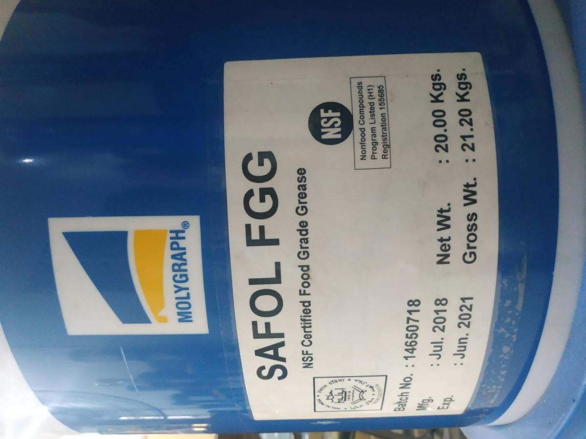 Mỡ bò an toàn thực phẩm Safol FGG - Molygraph