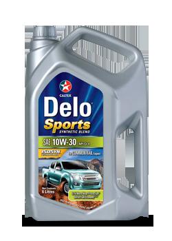 Nhớt ô tô Caltex Delo Sport Synthetic Blend SAE 10W30